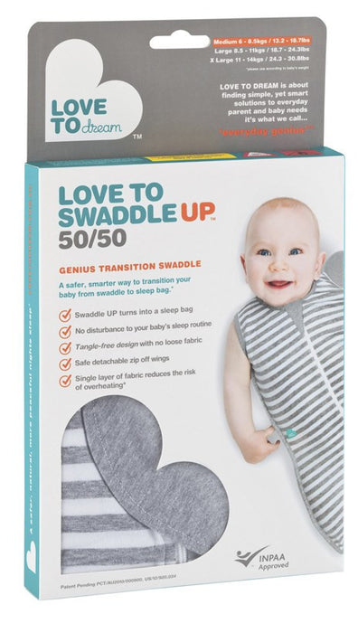 Love To Dream Swaddle Up 50/50 - Baby Zone Online - 3