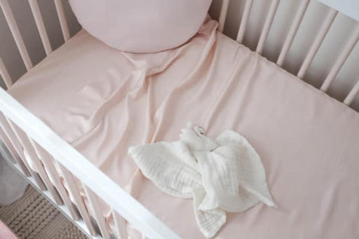 Mulberry Threads Co Bamboo Bassinet Sheet