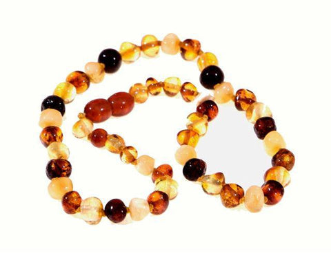 Wee Rascals Infant Amber Necklace - Baby Zone Online - 8