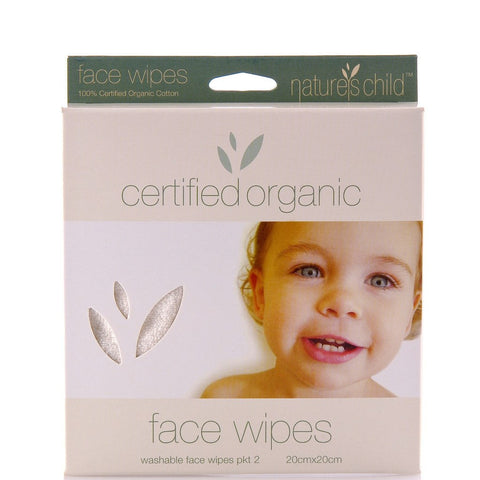 Nature's Child Face Wipes - 2pk