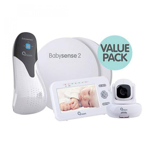 Oricom Babysense2 + Secure850 Value Pack