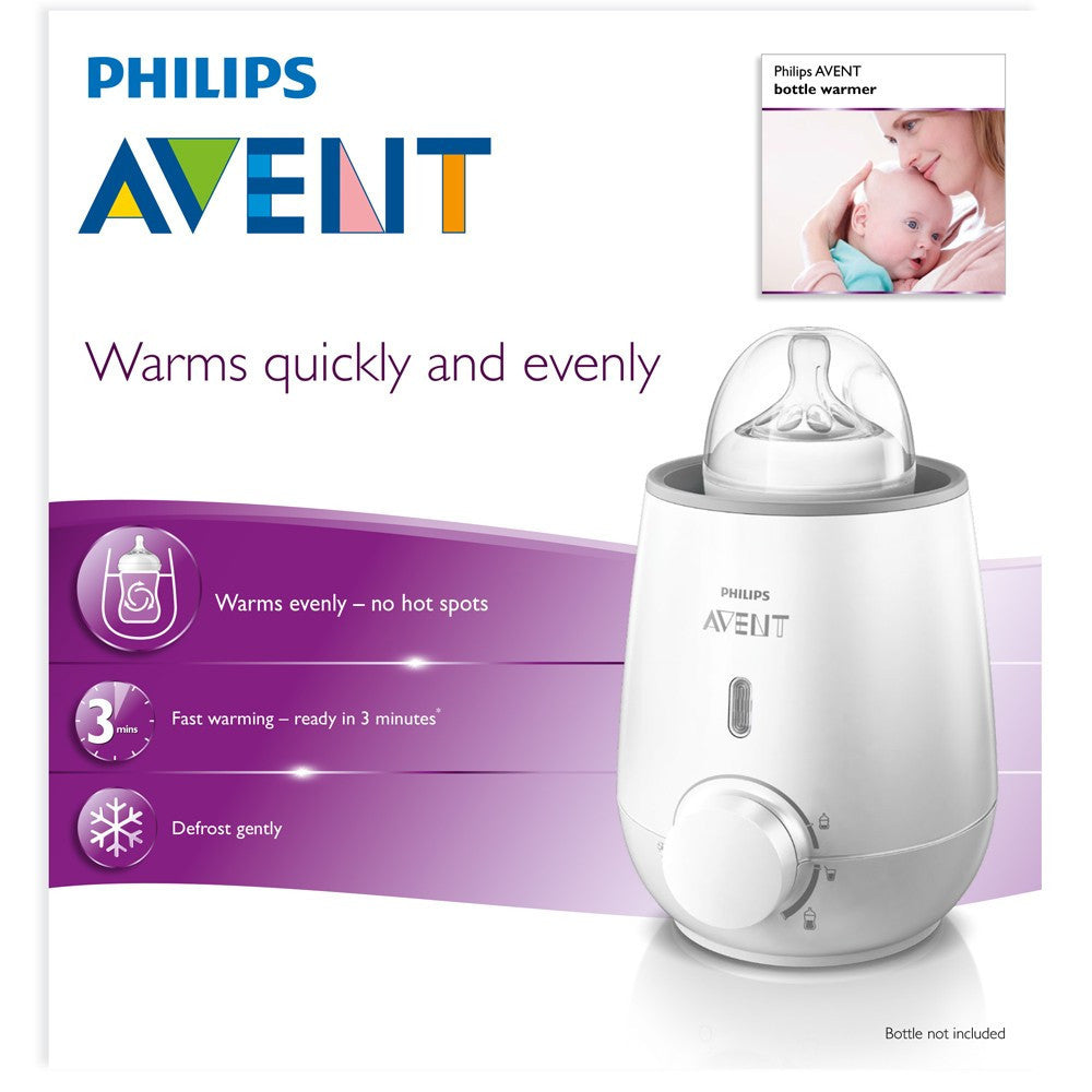 Avent Electric Bottle Baby Food Warmer Baby Zone