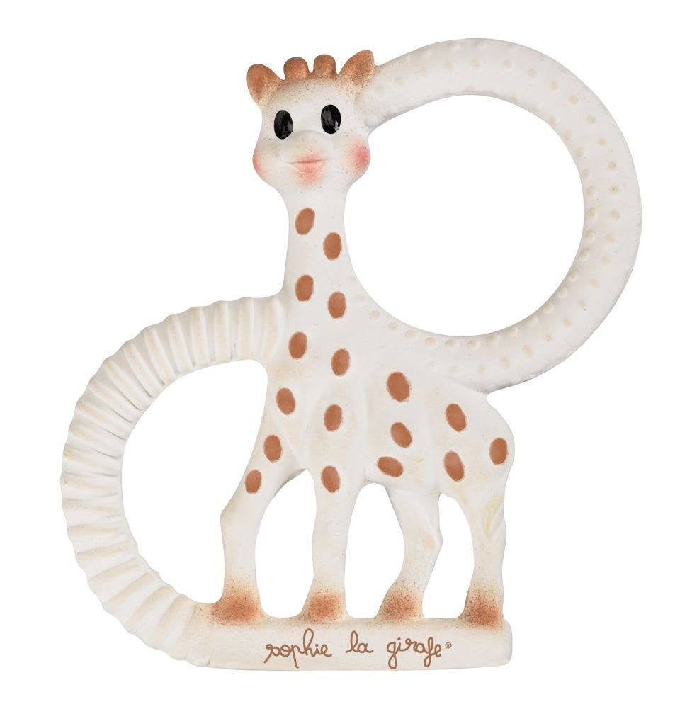 So Pure Sophie The Giraffe Teething Ring - Baby Zone Online