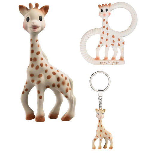 So Pure Sophie The Giraffe Trio - Baby Zone Online - 2