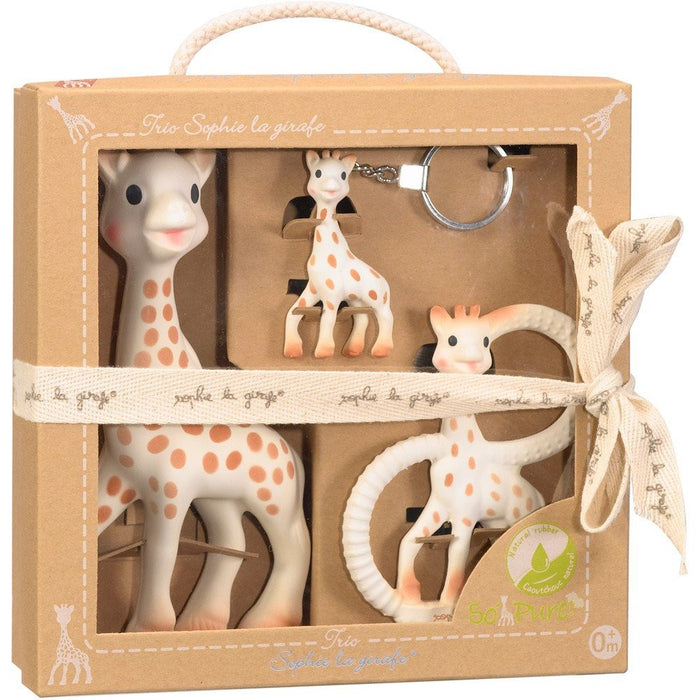 So Pure Sophie The Giraffe Trio - Baby Zone Online - 1