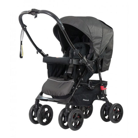 Steelcraft Acclaim Reverse Handle Stroller & Car Capsule Package