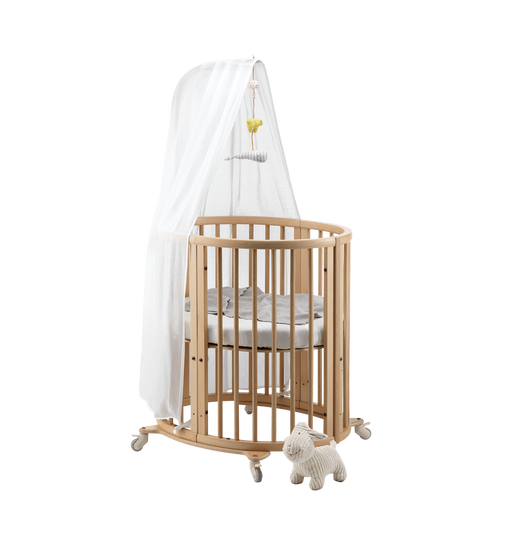 Stokke Sleepi Mini, mattress, drape rod & canopy - ex display