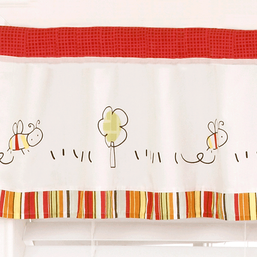 Cocalo Baby Farm Window Valance - Baby Zone Online - 2