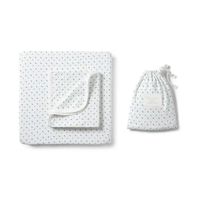 Wilson and Frenchy Bassinet Sheet Set
