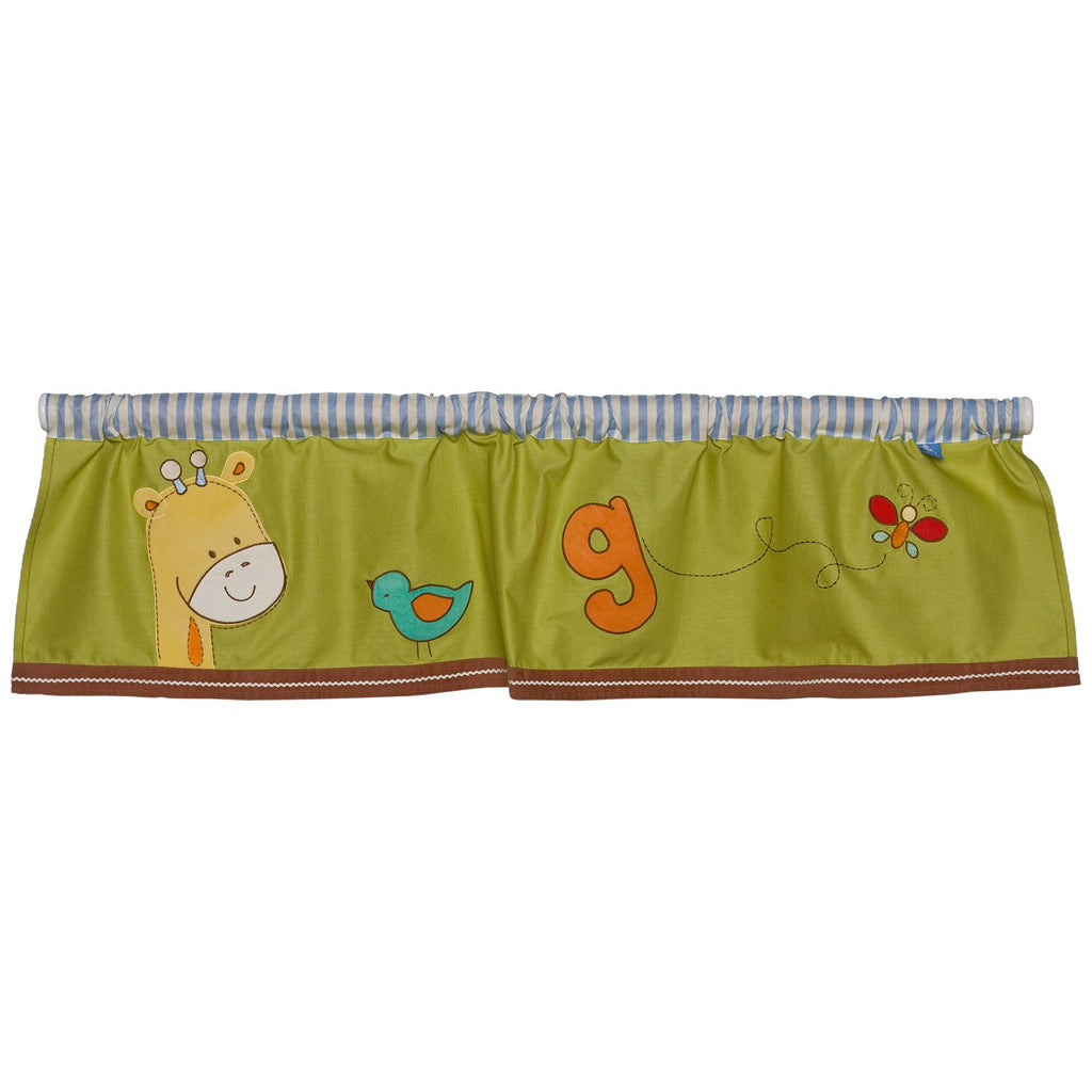 Living Textiles Play Date Window Valance - Baby Zone Online - 1