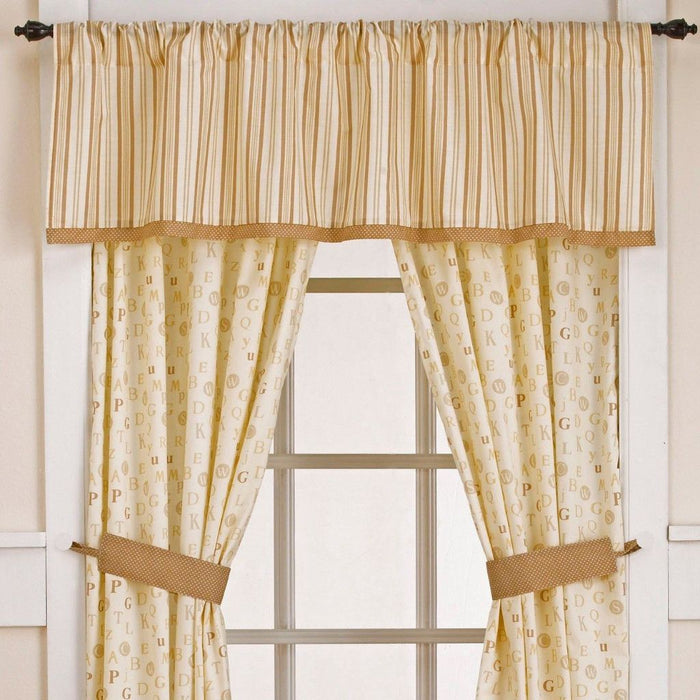 Cocalo Baby Caramel Kisses Window Valance - Baby Zone Online - 1