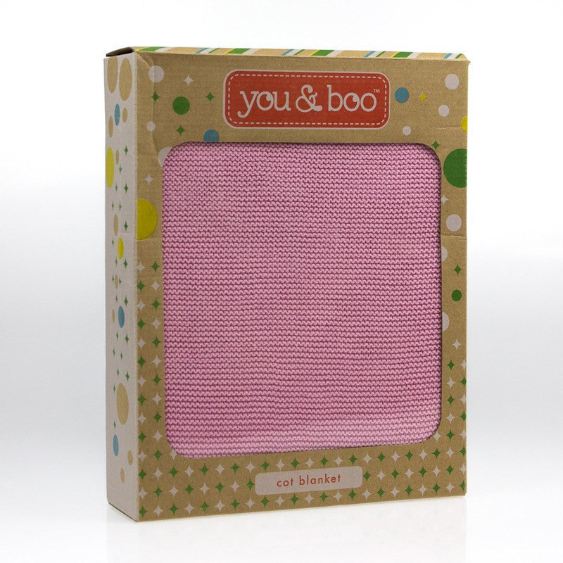 You & Boo Cot Blanket - Baby Zone Online - 1