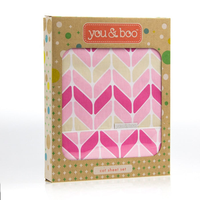 You & Boo Cot Sheet Set - Baby Zone Online - 13