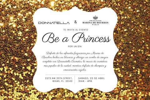Be a Princess event | Perfume and cosmetics