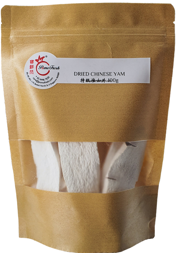 DRIED CHINESE YAM 特级淮山片 100g
