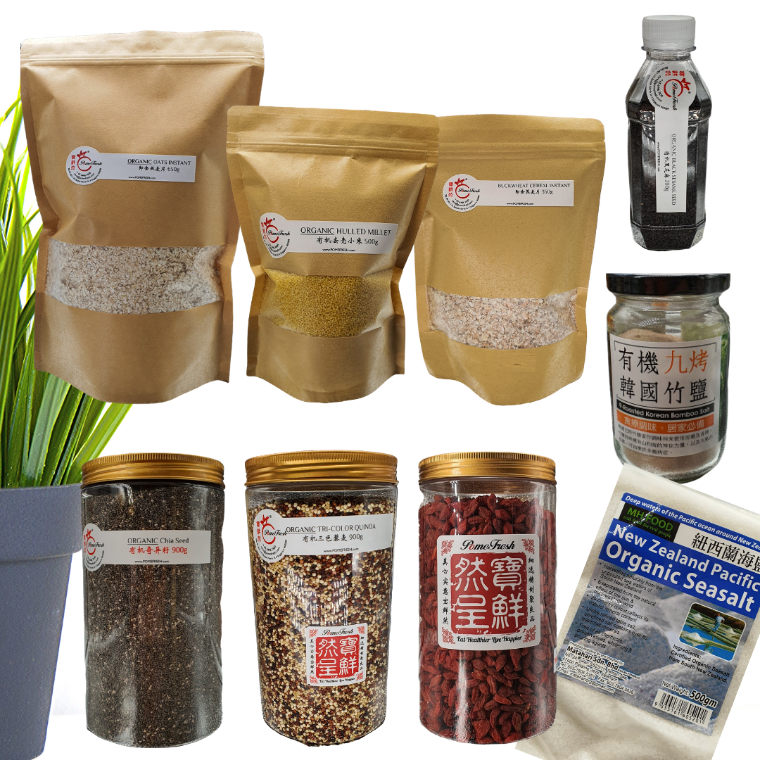 GRAINS & SUPERFOODS PACK