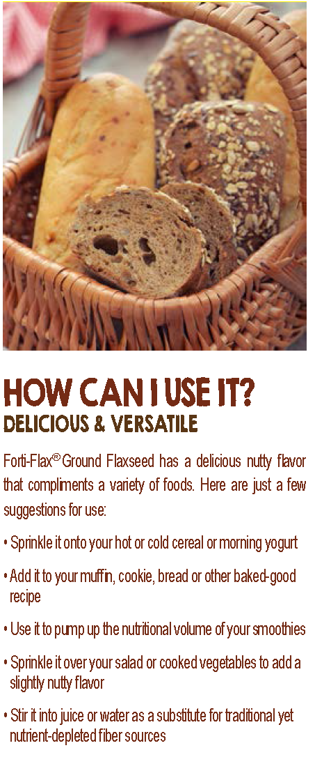 Forti-Flax (Ground Flaxseed) 16oz