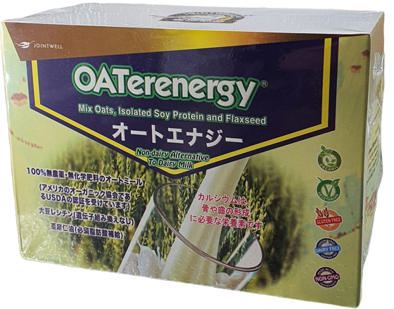 OATERENERGY JAPAN-JOINTWELL 有机燕麦植物奶独立装 25g X 12
