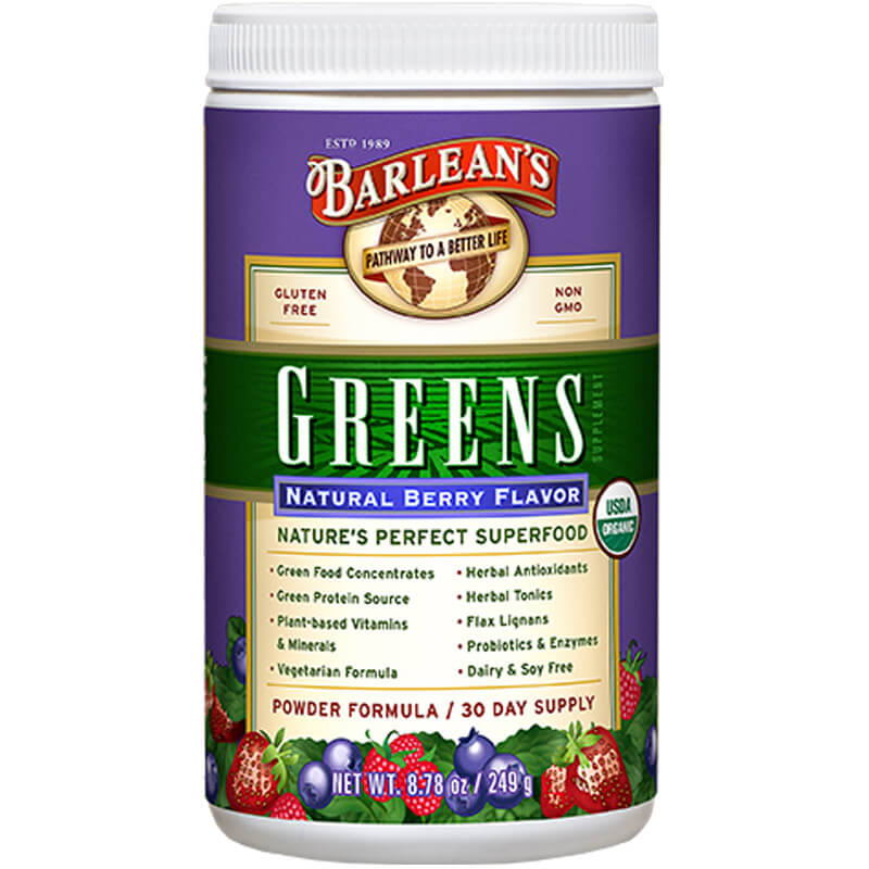 Organic Berry Greens 8.78oz