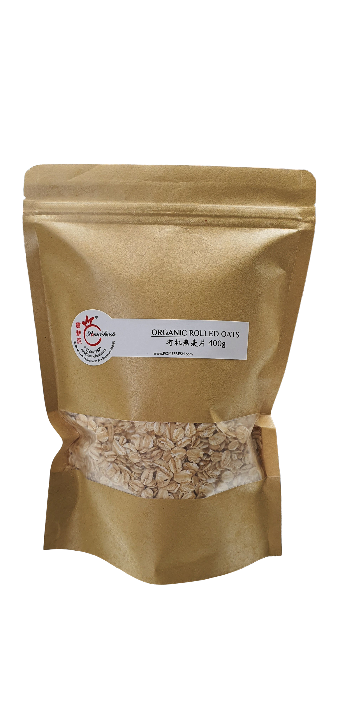 ORGANIC REGULAR ROLLED OATS 有机燕麦片 400g