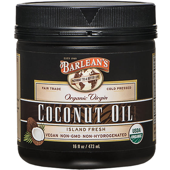 Organic Virgin Coconut Oil 16oz