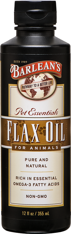 Flaxseed Oil for Pets
