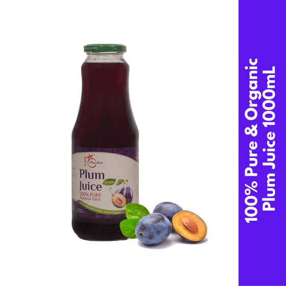 PomeFresh 100% Organic Plum Juice 1L - PomeFresh Organic Pte Ltd