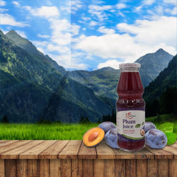 PomeFresh 100% Organic Plum Juice 330ml
