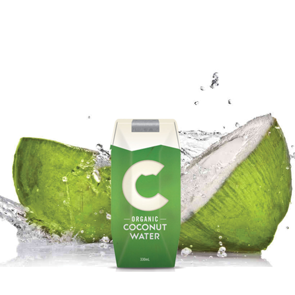 Organic Coconut Water 1 Carton (330ml X 12)