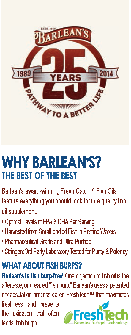 Barlean's, Omega-3, Fish Oil, Lemon Zest, 8oz