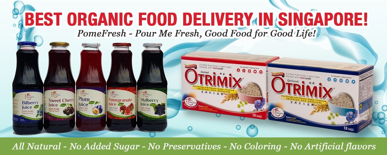 Organic Food Products Shop in Singapore | PomeFresh