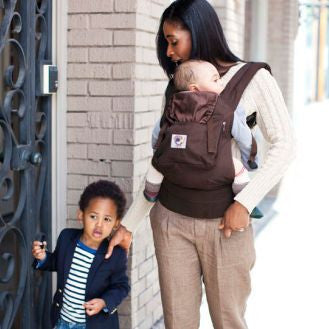 Ergo Baby Carrier in Organic Dark Cocoa. It's a Sling Thing - the babywearing experts. The best baby slings, wraps and carriers available to buy online.