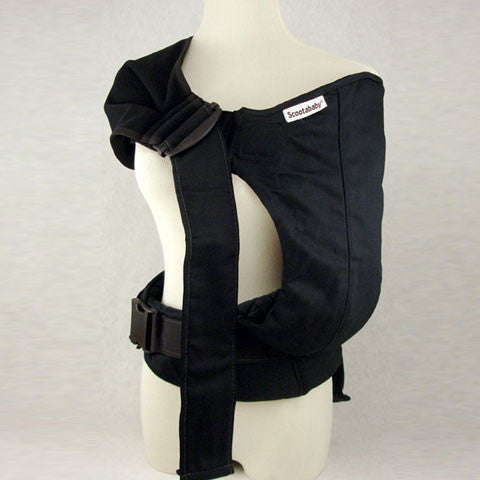 Scootababy Baby Carrier in Black. It's a Sling Thing - the babywearing experts. The best baby slings, wraps and carriers available to buy online.