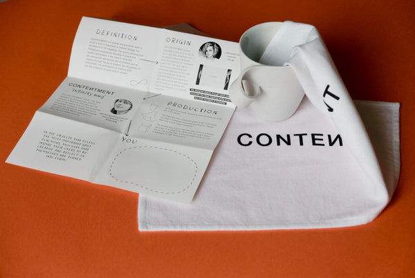 CONTENTMENT infinity mug            - (sold out)