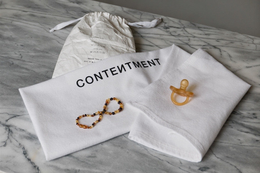 CONTENTMENT baby security blanket