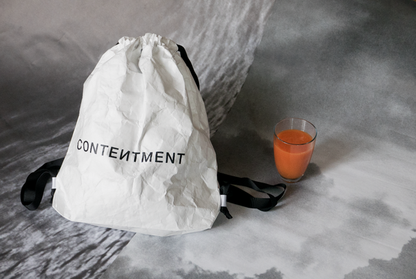 CONTENTMENT gym bag