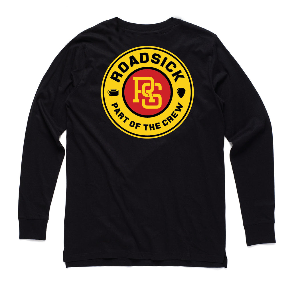Roadsick Badge Long Sleeve Tee