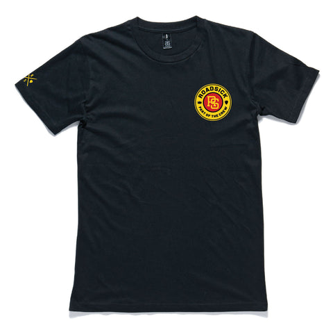 Roadsick Badge Tee - Short Sleeve