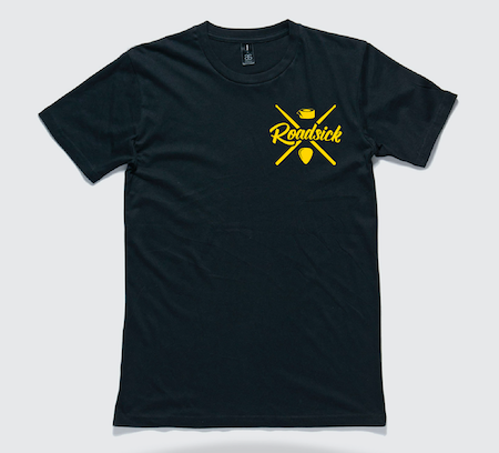 Original Tee - Black w/ Yellow