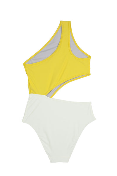 Gamma Swimsuit  | Yellow