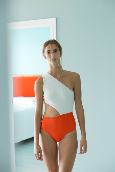 Gamma Swimsuit  | Orange