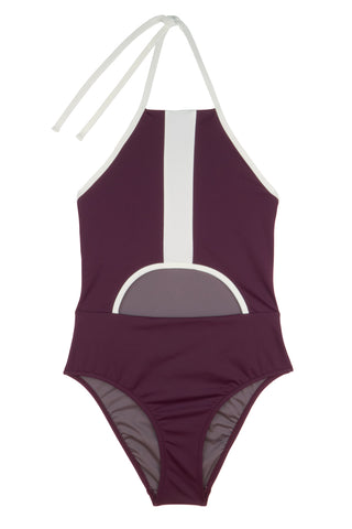 99 | Dipole Swimsuit  | Bordeaux