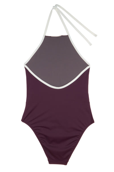 Dipole Swimsuit  | Bordeaux