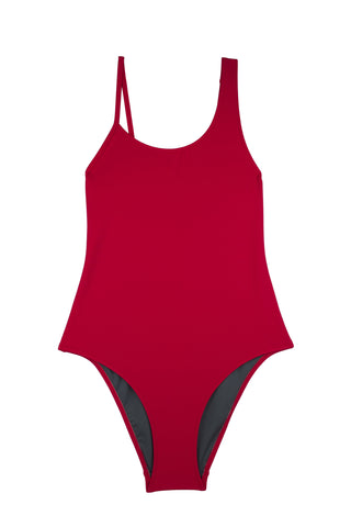 Baryon Swimsuit  | Mars Red