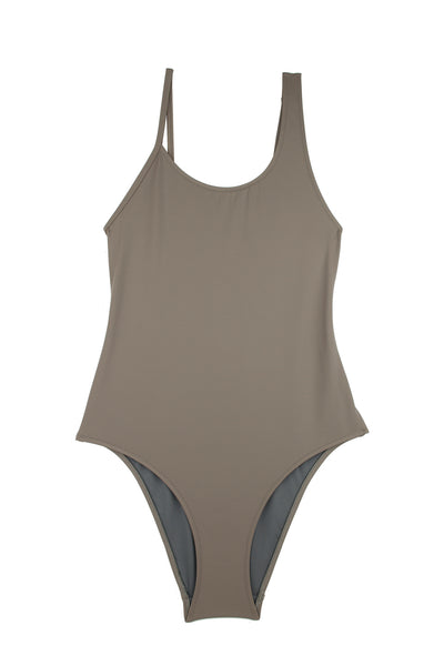 Baryon Swimsuit  | Taupe
