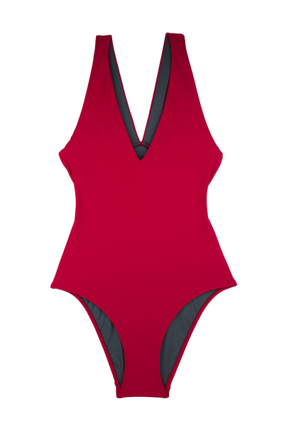 Everest Swimsuit  | Mars Red