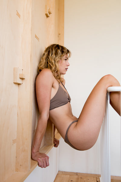 Twister Bottom | Taupe