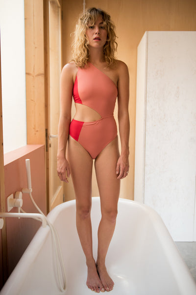 Gamma Swimsuit  | Blush-Mars