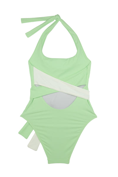 Puzzle Swimsuit | Granita | Foam