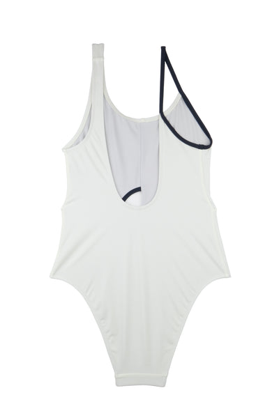 Crescent Swimsuit | Foam | Deep